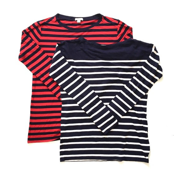 954be375f39 Gap Red White and Navy Blue Small Dress Gap Red t